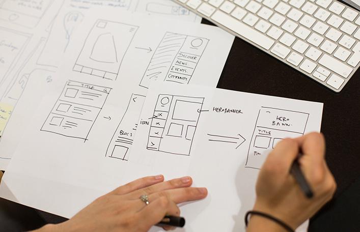 actimage créativité média UX UI atelier experience utilisateur interface design