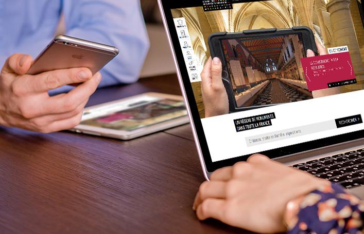 actimage application web smartphone développement visite virtuelle