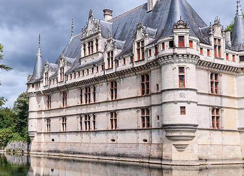Chateau Azay le Rideau Centre des monuments nationaux