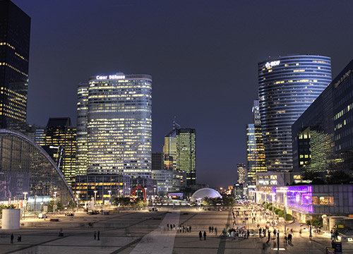 actimage projet project defacto ladefense paris software logiciel