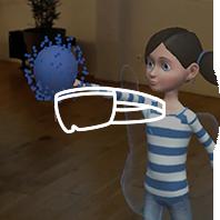 Application de réalité augmentée Hololens - Pop balloons Hol'Autisme