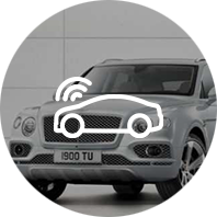 Application de voiture connectée Bentley