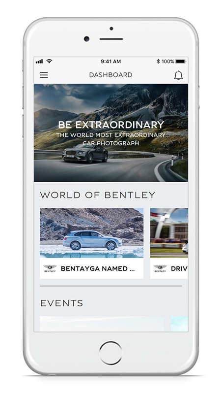 Ui design application Bentley Network